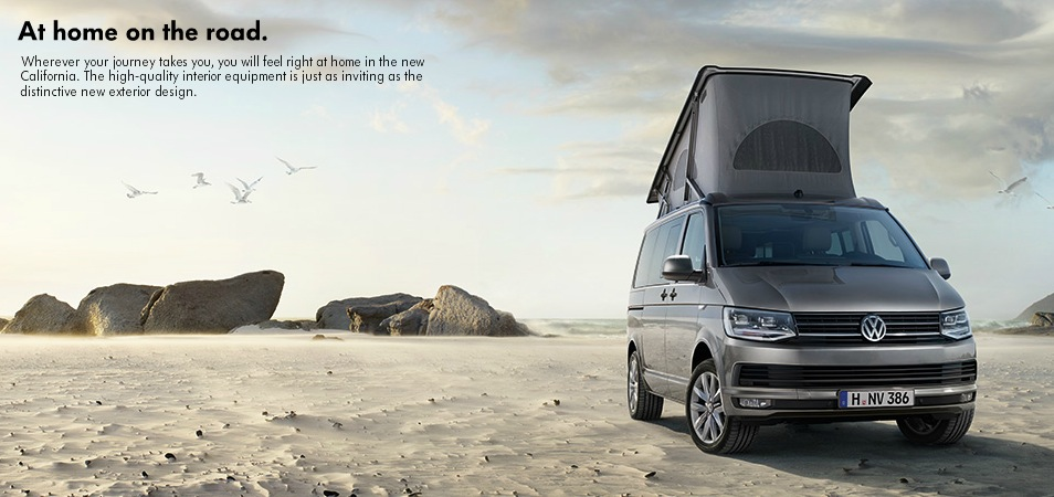 New Volkswagen California T6 Unveiled With More Modern Looks and TDI Engines - autoevolution
