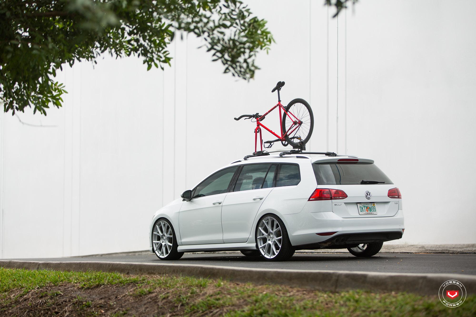New Volkswagen Golf Sportwagen Gets Vossen Wheels