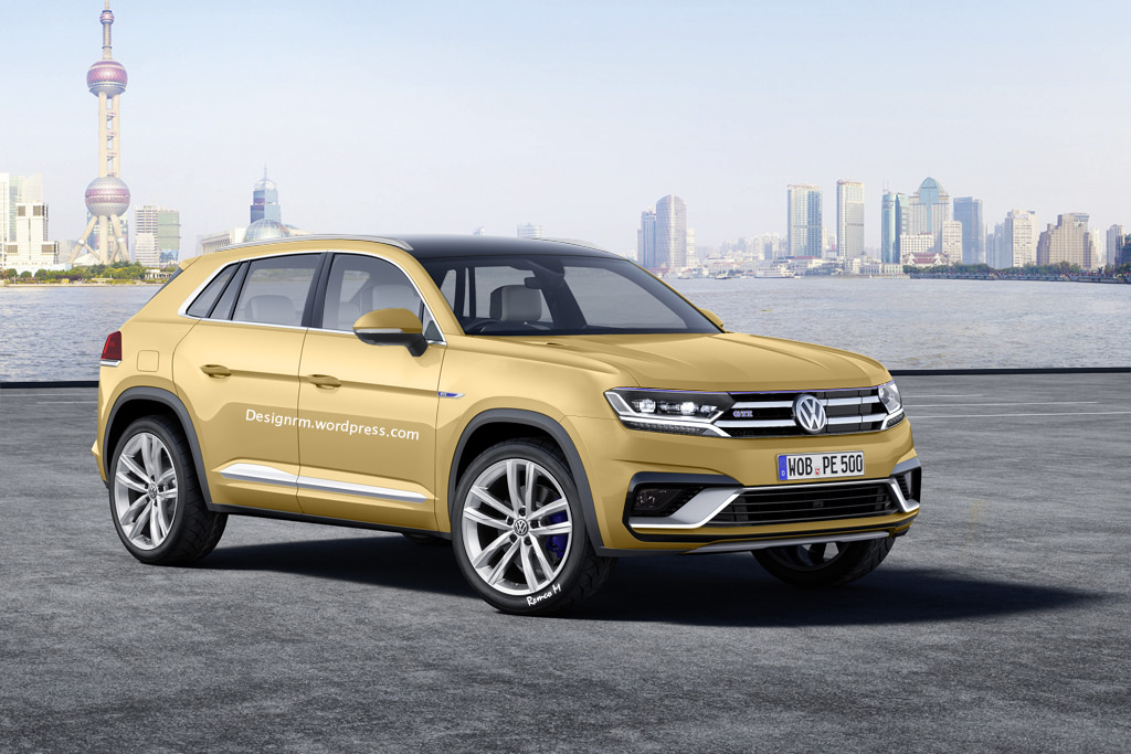 new volkswagen tiguan to be shown at frankfurt motor show 2015 autoevolution. Black Bedroom Furniture Sets. Home Design Ideas
