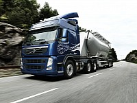 The new Volvo FM MethaneDiesel