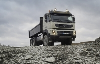 New Volvo FMX truck photo