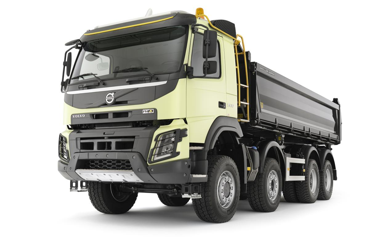 new volvo fmx truck launched autoevolution. Black Bedroom Furniture Sets. Home Design Ideas