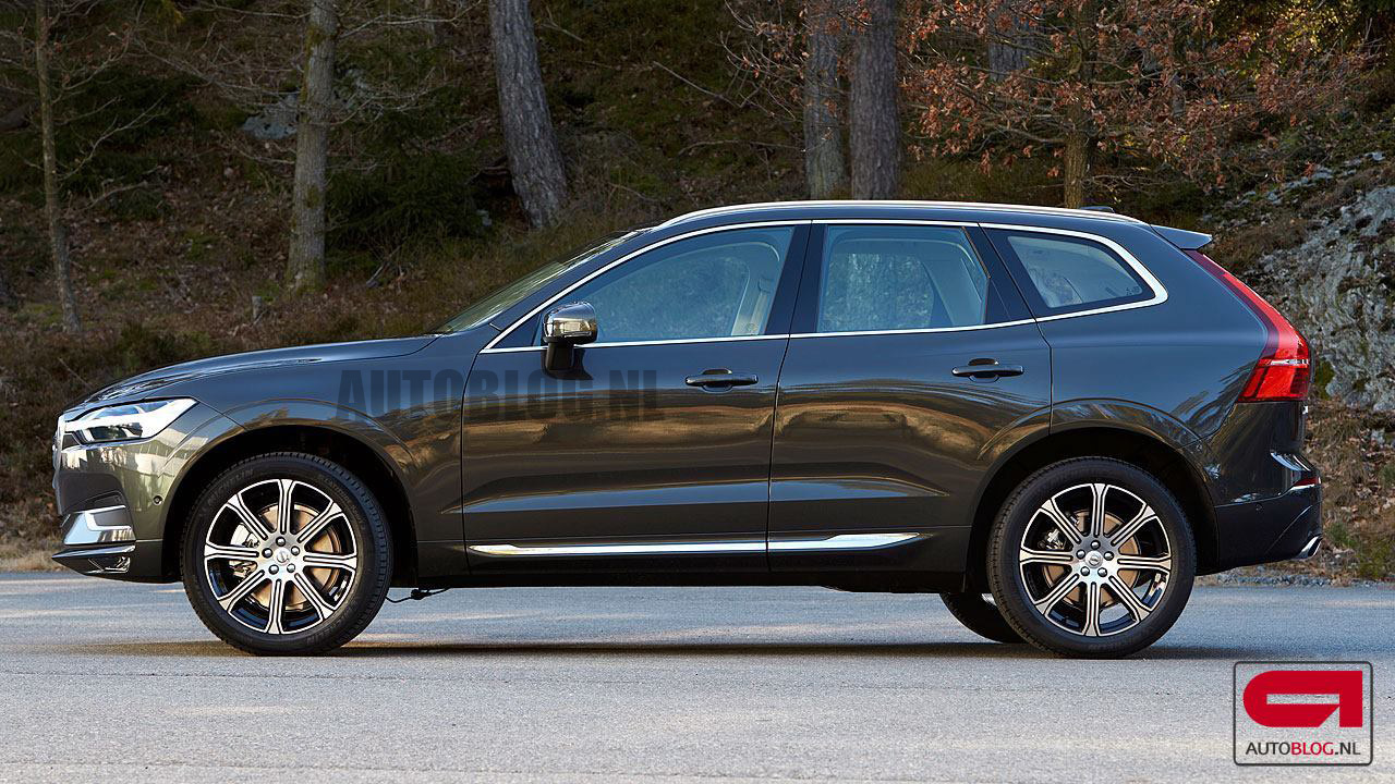 2018 volvo xc60 leaked looks sharper than the xc90. Black Bedroom Furniture Sets. Home Design Ideas