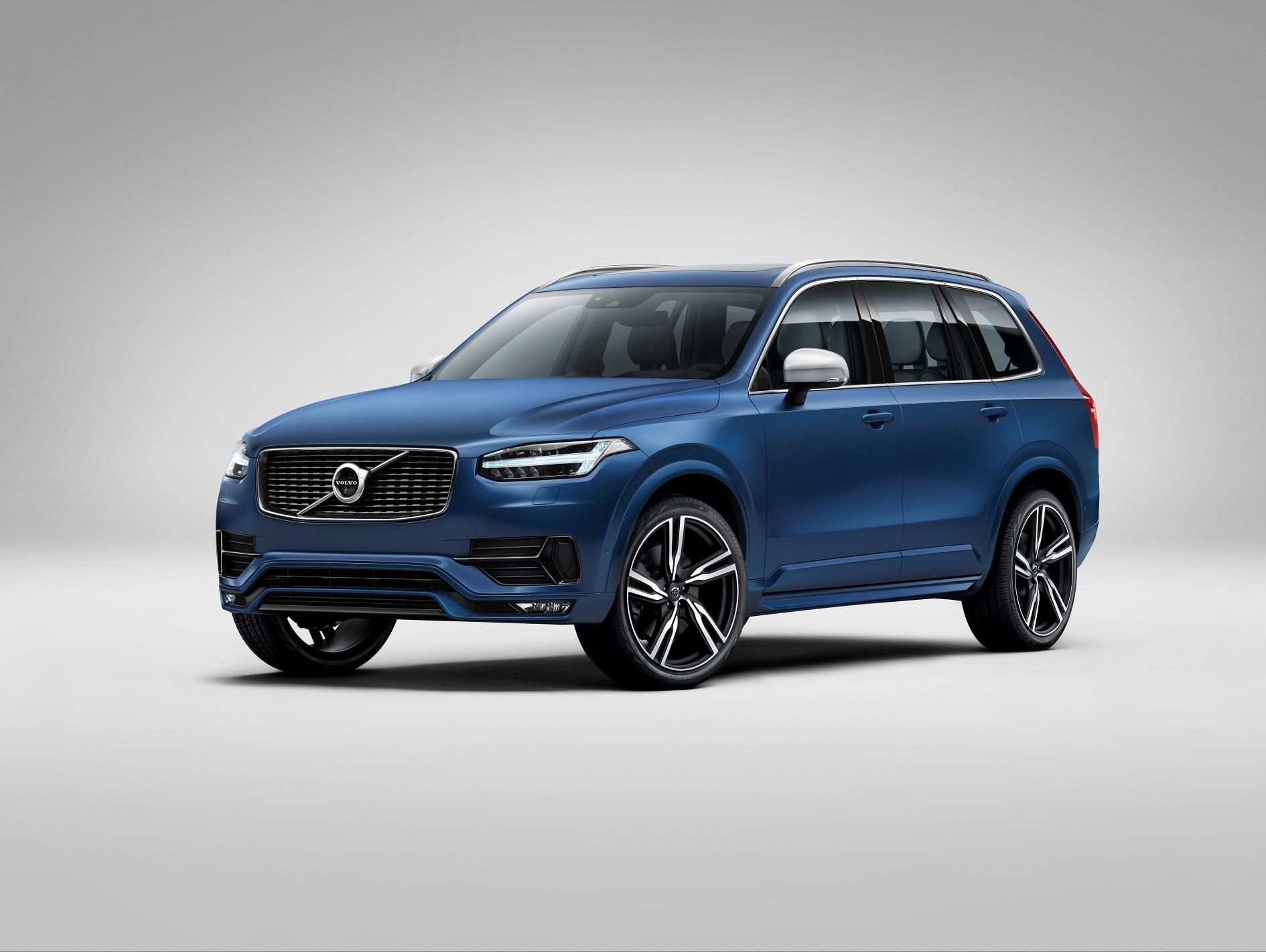 New Volvo Xc90 >> New Volvo Xc90 R Design Breaks Cover Autoevolution