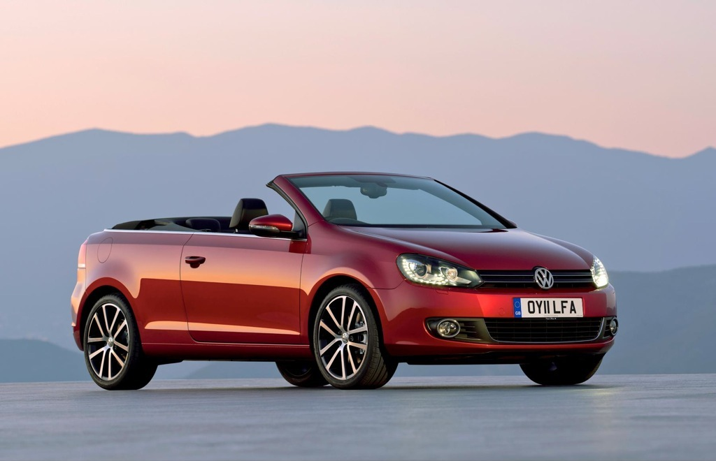 new vw golf vi cabriolet on sale today from under gbp21 000 autoevolution. Black Bedroom Furniture Sets. Home Design Ideas