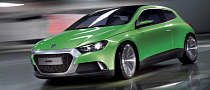 New VW Scirocco: Not Before 2017
