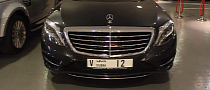 New W222 Mercedes S500 Spotted in Dubai [Video]