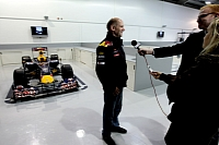 Adrian Newey and the Red Bull RB6