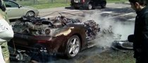 Newly Purchased Ferrari Caught Fire Out of the Blue