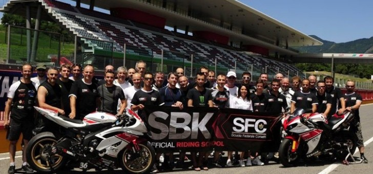 News from Scuola Federale Corsetti, the Official Superbike Riding School