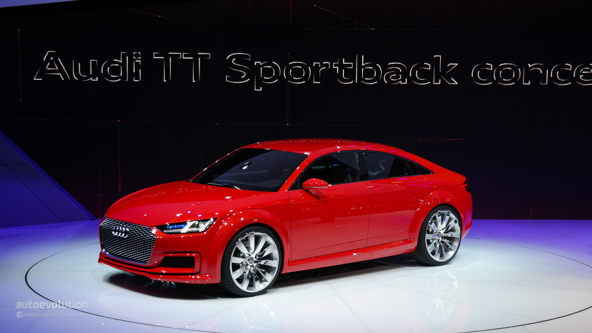 next audi tt pretty much confirmed as 4 door coupe only autoevolution. Black Bedroom Furniture Sets. Home Design Ideas
