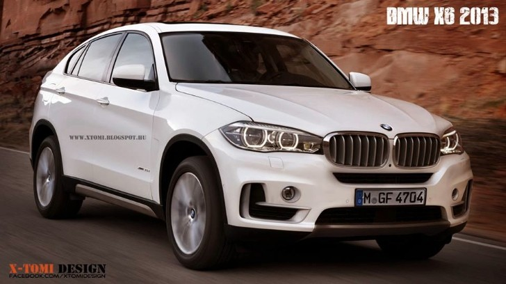 Next BMW X6 Rendered