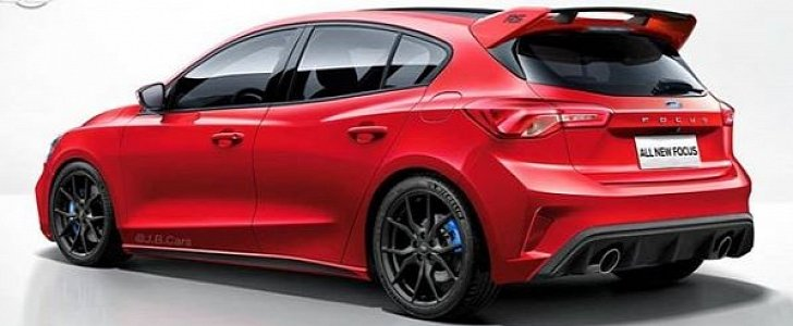 Next Ford Focus Rs Rendered Looks Like An Athlete Autoevolution