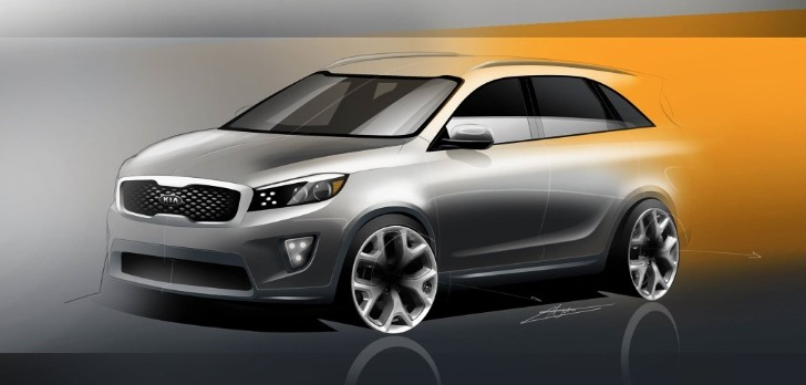 Next Gen 2016 Kia Sorento Rendered Autoevolution