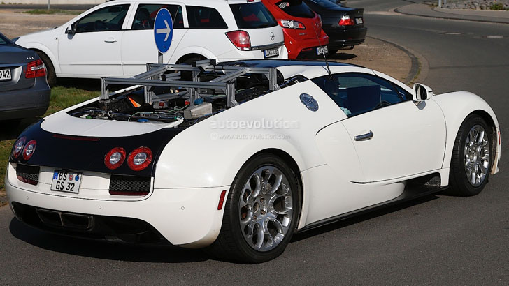 Next Gen Bugatti Veyron Going Hybrid Adding Power