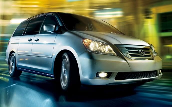 Next Gen Honda Odyssey Concept Prepared For 2010 Chicago Auto Show
