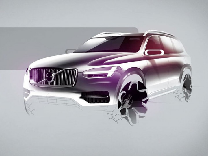 Next-Gen Volvo XC90 to Be Built in South Carolina from 2021 - autoevolution