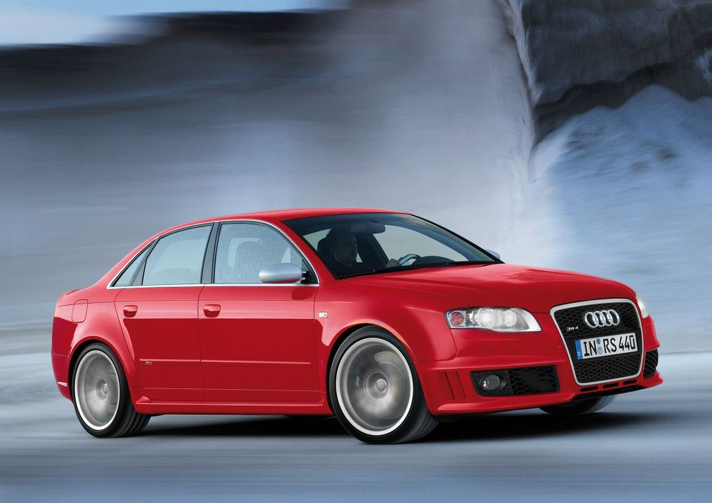 Next Generation Audi Rs4 Launched In 2010 Autoevolution