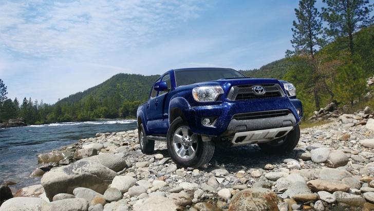 2015 Toyota Tacoma Auto Show