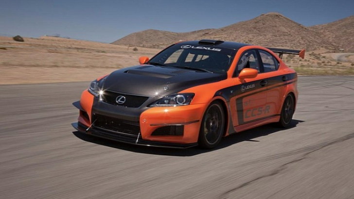 Next Lexus IS F: More Performance, Less Weight