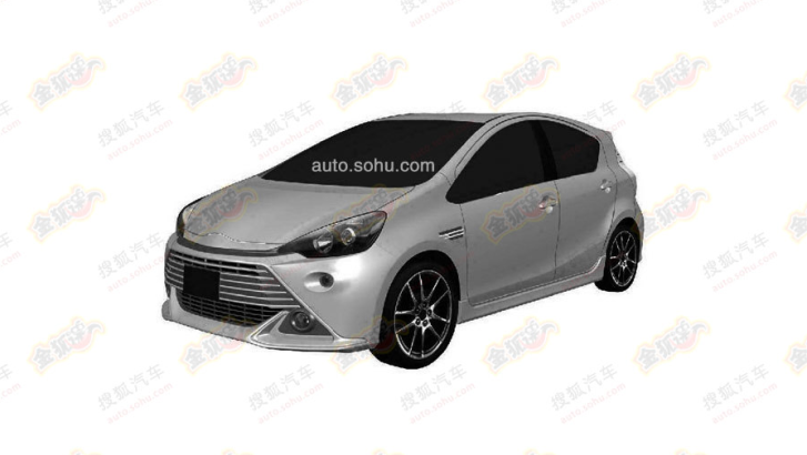 Next Toyota Aygo Leaked Photos