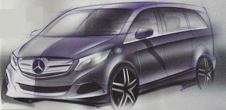 Next Viano to Resurrect V-Class Nameplate, Appear in July 2014