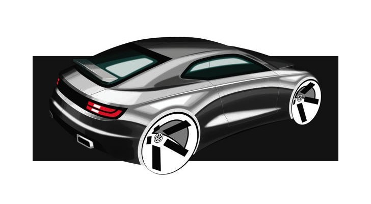Next Volkswagen Scirocco Through the Eyes of a Design Student
