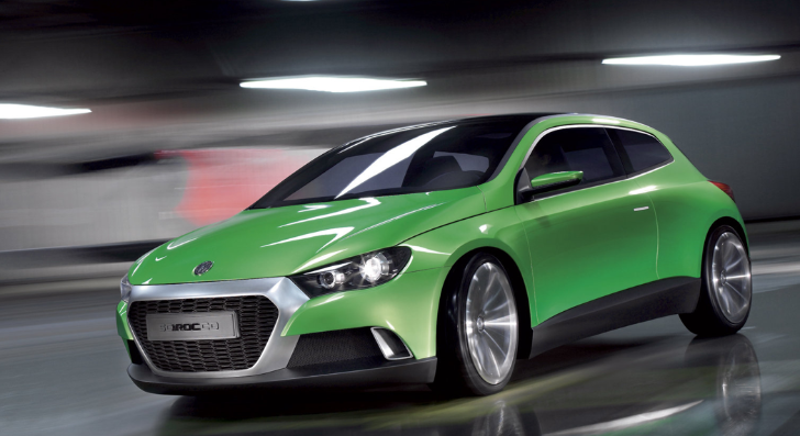 Next VW Scirocco Will Look Completely Different
