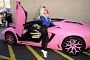 Nicki Minaj Reveals Pink Lamborghini Aventador [Video] [Photo Gallery]