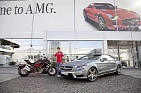 AMG supports the Ducati MotoGP team