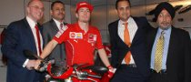 Nicky Hayden Inaugurates Ducati India Showroom
