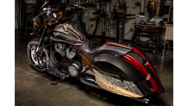 Nikki Sixx Designs Victory Cross Country 8 Ball
