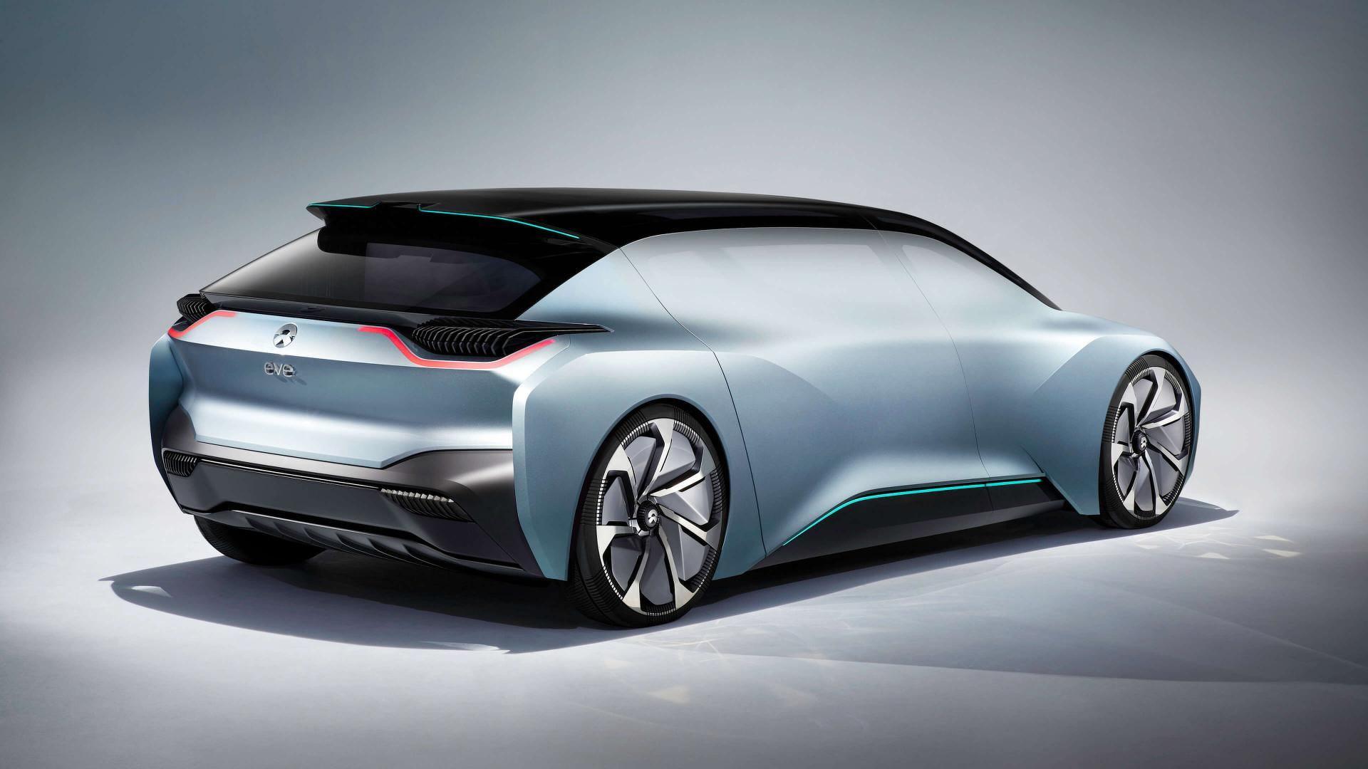 Nio Showcases Concept Named Eve Its An Autonomous Ev