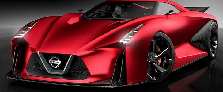 "Nissan 2020 Vision Gran Turismo Turns ""Fire Knight"" Red ..."