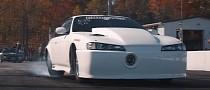 "Nissan 240SX ""White Rice"" Has 2,600 HP 2JZ Engine, Runs 6s at 226 MPH (364 Km/H)"