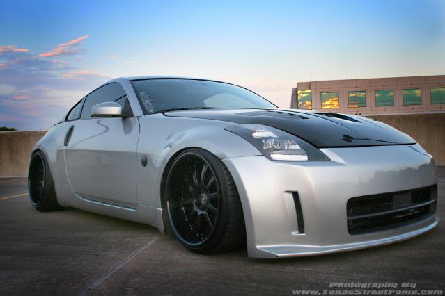Nissan 350z receives light tuning autoevolution