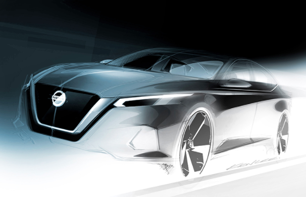Nissan Altima Previewed in New Sketch