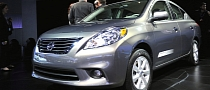 Nissan Announces 2012 Versa US Pricing