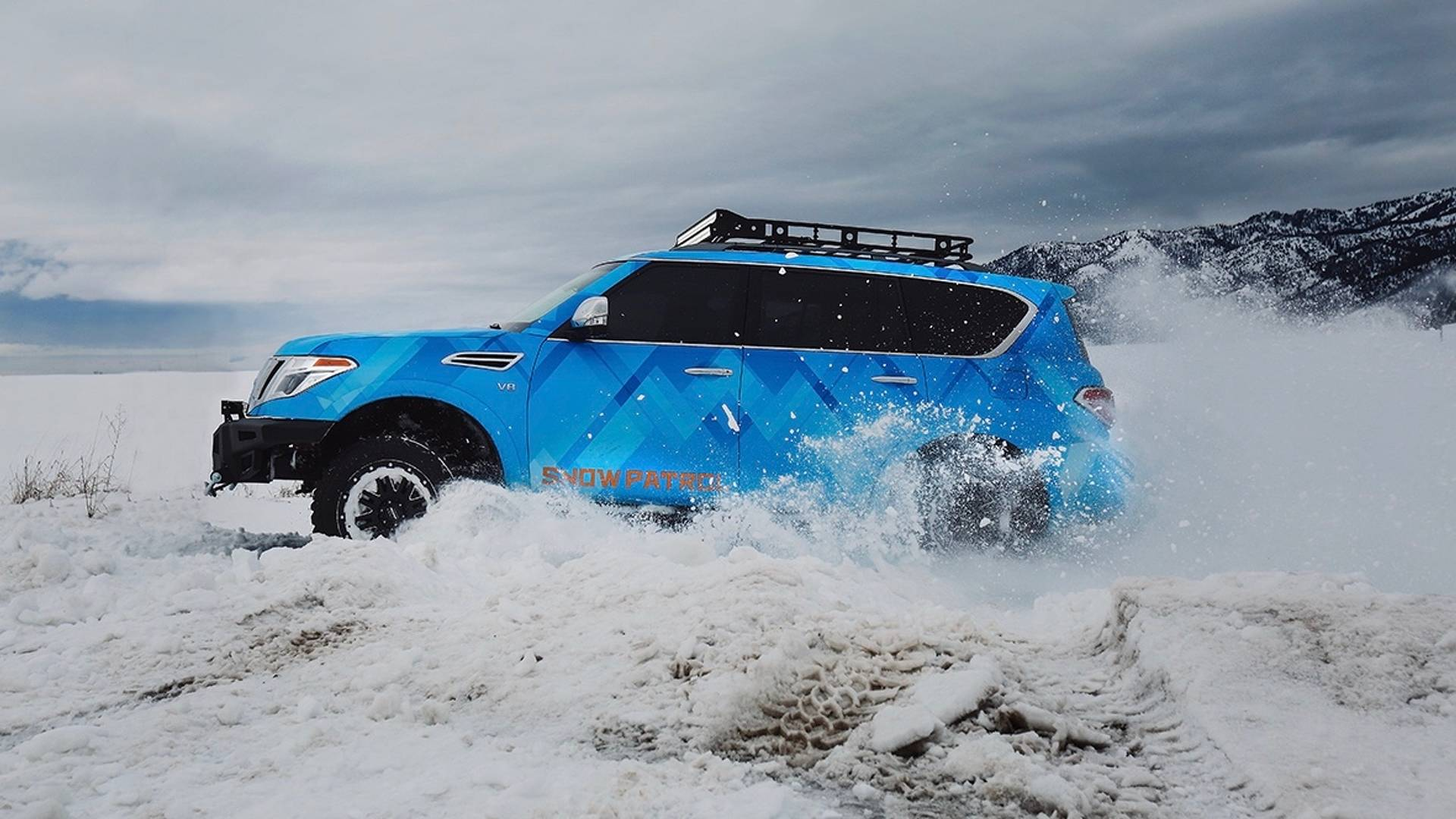 Nissan Armada Snow Patrol is ready for Chicago