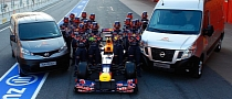 Nissan Becomes Official Global Vehicle Supplier of Red Bull Racing F1 Team