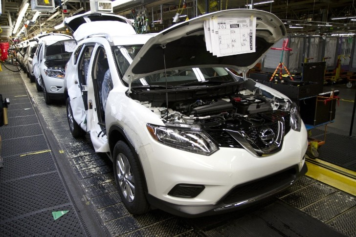 Nissan Celebrates 10 Million Tennessee-built Vehicles, Rolls Off First US-produced Rogue