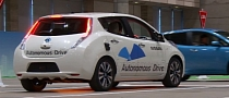 Nissan Demonstrates Autonomous Drive Vehicle in Japan [Video]