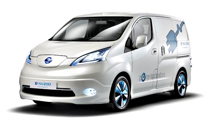 nissan e-nv200 all-electric van close to european production