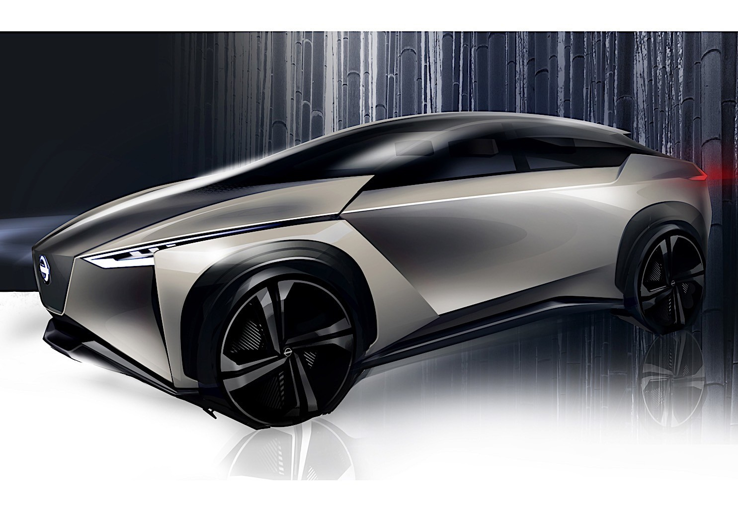 nissan electric crossover confirmed based on imx kuro concept autoevolution. Black Bedroom Furniture Sets. Home Design Ideas