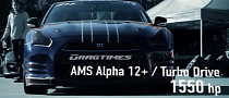 Nissan GT-R Battle: Switzer Goliath vs GT-R Alpha 12+ [Video]