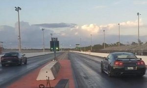 Nissan GT-R Drag Races Hellcat, The Fight Is Brutal