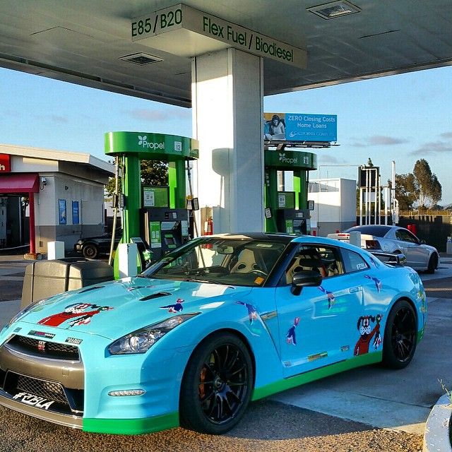 nissan gt-r gets duck hunt wrap for goldrush rally - autoevolution