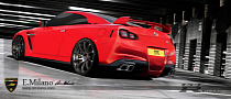 Nissan GT-R Gets Ferrari F12 Rear End and Porsche Elements in Bizzare Rendering