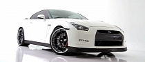 Nissan GT-R Gets New Shoes from Forgiato Wheels [Video]