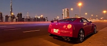 Nissan GT-R in Dubai Short Film